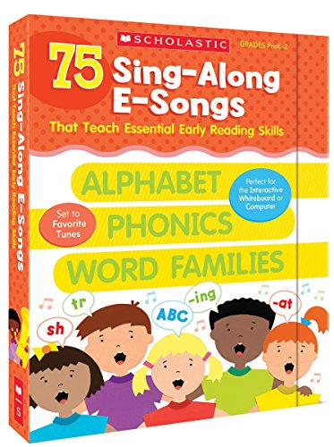 9780545652629: 75 Sing-Along E-Songs That Teach Essential Early Reading Skills