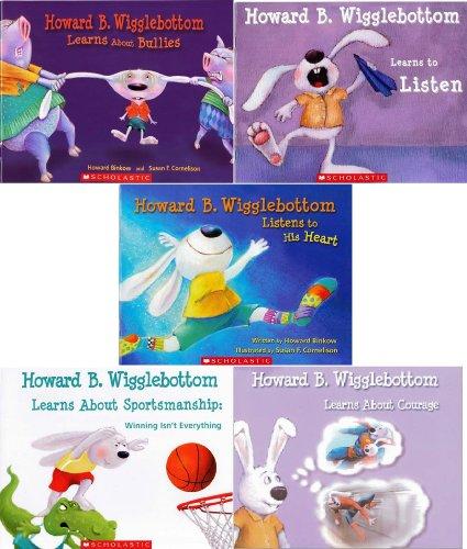 9780545658669: Howard B. Wigglebottom Learning Pack 5 Book Set: Howard B. Wigglebottom Learns About Bullies, Howard B. Wigglebottom Learns About Sportsmanship, Howard B. Wigglebottom Learns to Listen, Listens to His Heart, Howard B Wigglebottom Learns About Courage (Howard B. Wigglebottom)