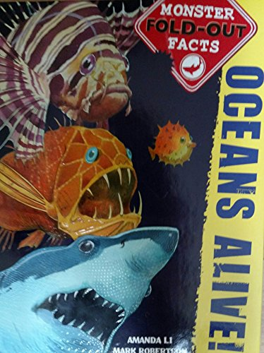 9780545663397: Oceans Alive Monster Fold-out Facts By Amanda Li & Mark Robertson [Hardcover]