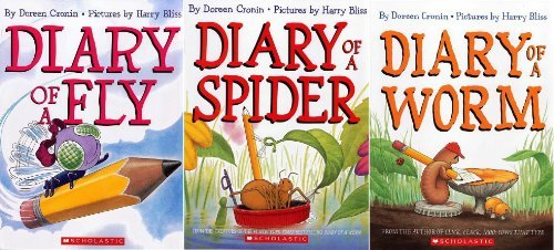 Bug Diaries Set : Diary of a Worm / Diary of a Spider / Diary of a Fly