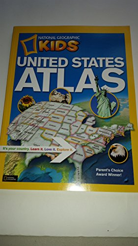 9780545664783: National Geographic Kids United States Atlas Paperback