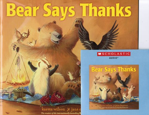 9780545666091: Bear Says Thanks with Read Along Cd