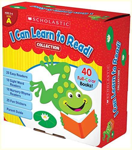 9780545682534: I Can Learn to Read! Collection Level A