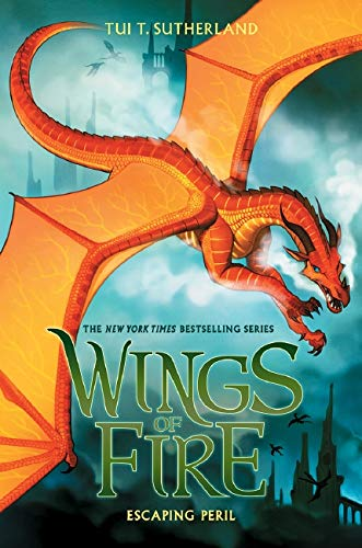 Escaping Peril (Wings of Fire, Book 8): Sutherland, Tui