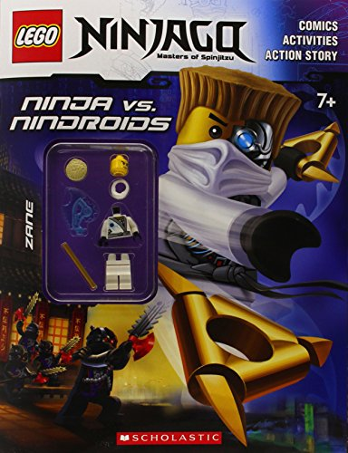 9780545685825: Lego Ninjago: Ninja vs. Nindroid Activity Book (with Minifigure)