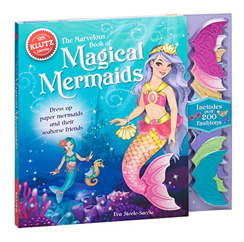 9780545692144: The Marvelous Book of Magical Mermaids: Dress Up Paper Mermaids and Their Seahorse Friends