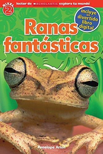 Ranas Fantasticas = Fantastic Frogs (Paperback): Penelope Arlon