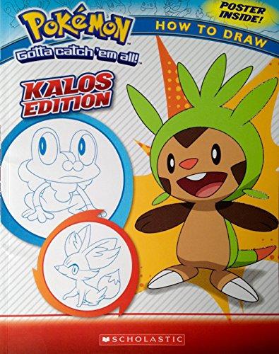 Pokemon How to Draw - Kalos Edition: Maria S. Barbo