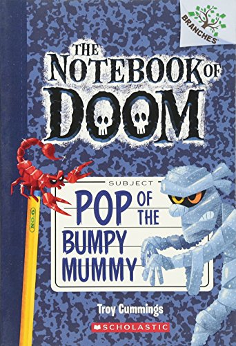 9780545698986: Pop of the Bumpy Mummy: A Branches Book (The Notebook of Doom #6)