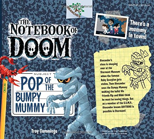 9780545698993: Pop of the Bumpy Mummy: A Branches Book (The Notebook of Doom #6)