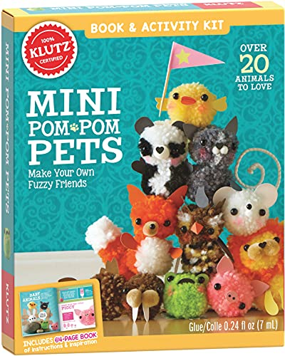 9780545703192: Mini Pom-Pom Pets: Make Your Own Fuzzy Friends