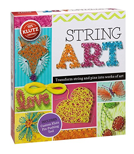 String Art : Turn String and Pins into Works of Art 9780545703215 Klutz-String Art Book Kit. Turn String And Pins Into Works Of Art With String Art. Children Can Use More Than Twenty Art Templates, Incl