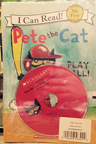 9780545707886: Pete the Cat Listening Pack--Pete the Cat Play Ball
