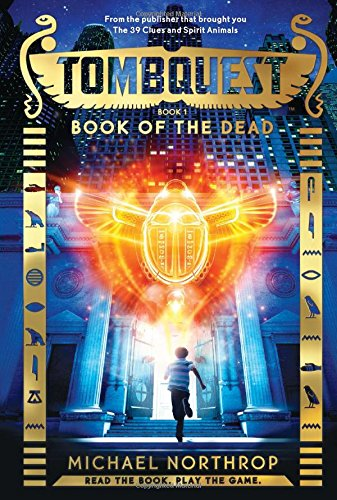 9780545723381: Book of the Dead (Tombquest, Book 1)