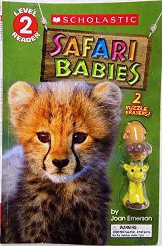 9780545724609: Scholastic Reader Level 2 Safari Babies