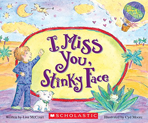 9780545748483: I Miss You, Stinky Face Board Book