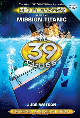 9780545767194: The 39 Clues: Doublecross Book 1: Mission Titanic - Library Edition