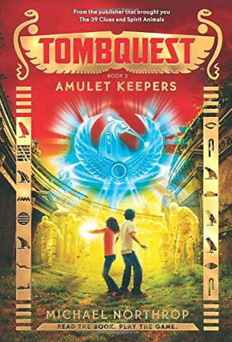 9780545782890: Amulet Keepers - Library Edition (Tombquest)