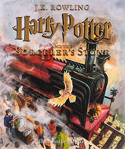 Harry Potter and the Sorcerer's Stone : The Illustrated Edition (Harry Potter Year One)