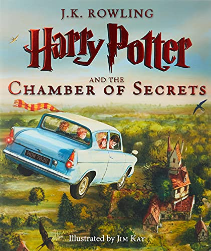 Harry Potter and the Chamber of Secrets: The Illustrated Edition (Harry Potter, Book 2) (Hardcover)...