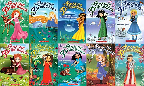 9780545793360: Rescue Princesses Pack (Books 1-10) :