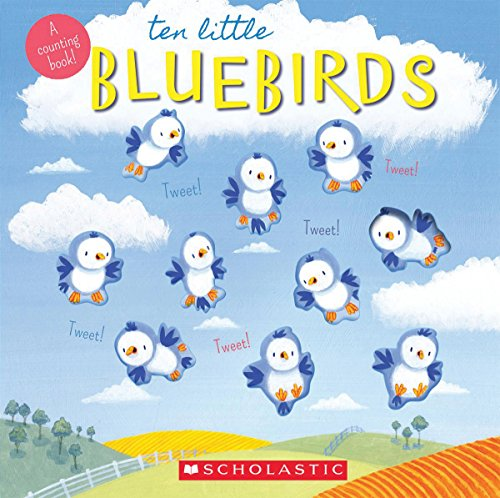 9780545794411: Ten Little Bluebirds