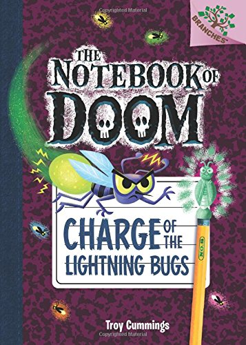 9780545795548: Charge of the Lightning Bugs: A Branches Book (The Notebook of Doom #8)