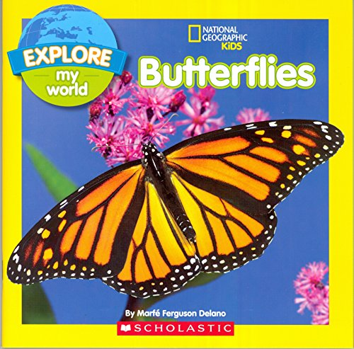 9780545796118: Butterflies National Geographic Kids