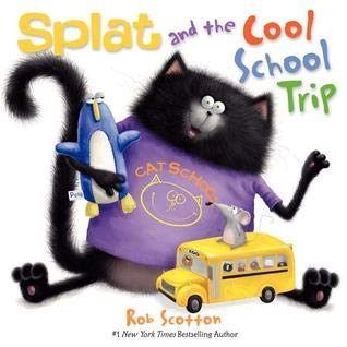 9780545802864: Splat and the Cool School Trip