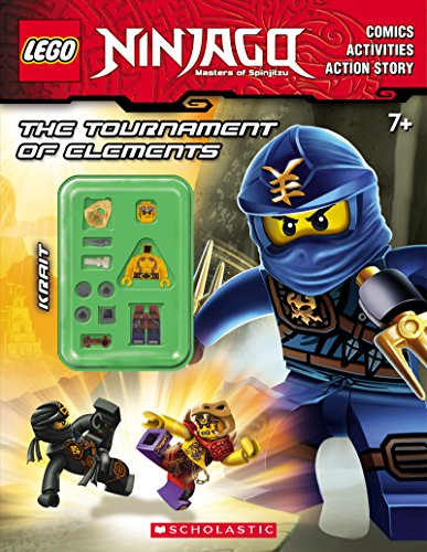 9780545805407: The Tournament of Elements (LEGO Ninjago: Activity Book with Minifigure)