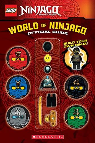 9780545808132: LEGO Ninjago World Of Ninjago Official Guide [Build Your Own Ninja] Ages 7+