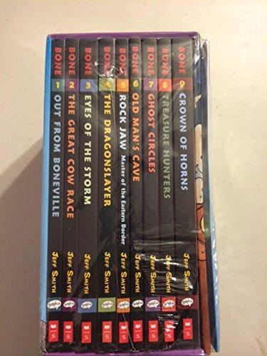 9780545808255: Bone Box Set: Books #1 -9 Plus Inflatable Bone
