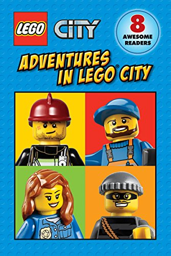 Lego City: Adventures in Lego City (reader Boxed Set) 9780545808613 Read eight fun-filled, action-packed stories from LEGO(R) City! Follow the LEGO(R) City crew on their adventures underground, on the rai