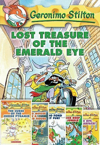 9780545809313: Geronimo Stilton Adventures Pack 1-6; Lost Treasure, Curse of the Cheese Pyramid, Cat and Mouse in a Haunted House, I'm Too Fond of my Fur, Four Mice Deep in the Jungle, Paws Off, Cheddarface