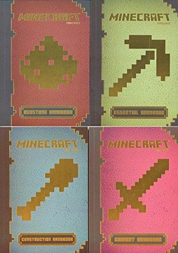 9780545816755: Minecraft? Handbook Pack (4 Ct.) : Minecraft?: Essential Handbook, Minecraft? Construction Handbook, Minecraft?: Combat Handbook, Minecraft? Redstone Handbook