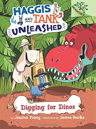 9780545818896: Digging for Dinos: A Branches Book (Haggis and Tank Unleashed #2)