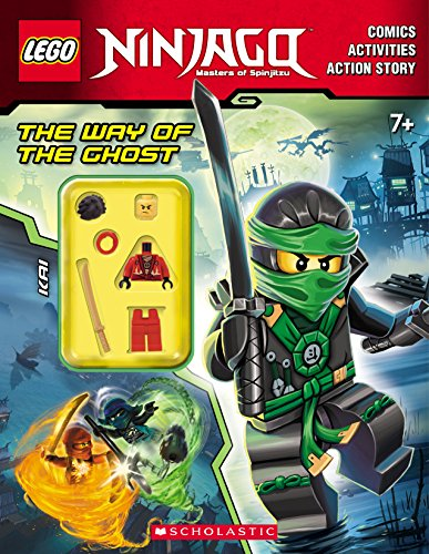 9780545825542: The Way of the Ghost (LEGO Ninjago: Activity Book with Minifigure)