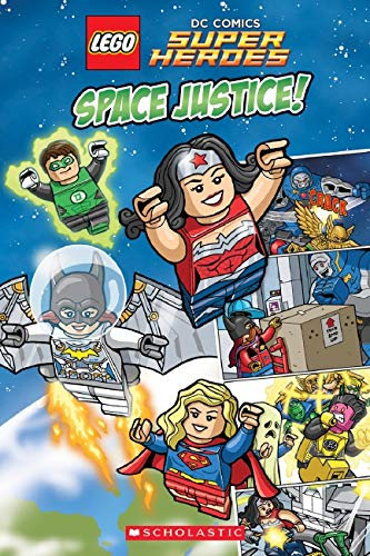 9780545825566: Space Justice! (Lego Dc Super Heroes)