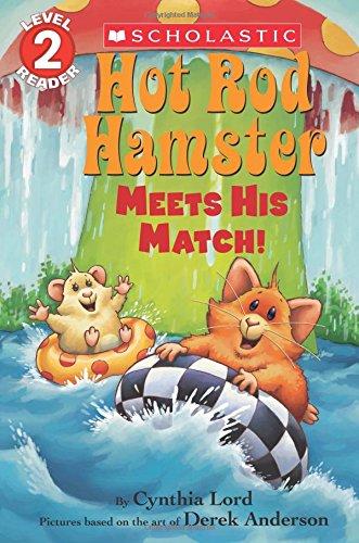 9780545825917: Hot Rod Hamster Meets His Match! (Scholastic Reader, Level 2)