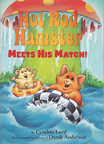 9780545825924: Hot Rod Hamster Meets His Match!