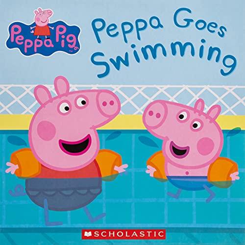 9780545834919: Peppa Pig: Peppa Goes Swimming