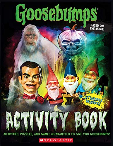 9780545836098: Goosebumps the Movie: Activity Book with Stickers