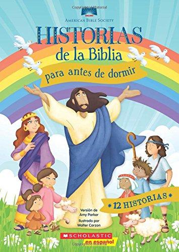 9780545847155: Historias de la Biblia para antes de dormir (Spanish Edition)