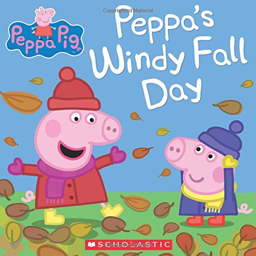 9780545848183: Peppa's Windy Fall Day (Peppa Pig)