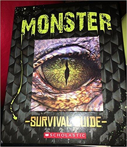 9780545851664: Monster Survival Guide [hardcover/spiral-bound]