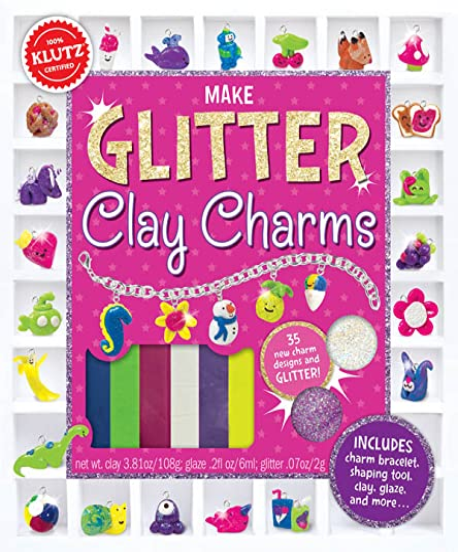 9780545858465: Make Glitter Clay Charms (Klutz)