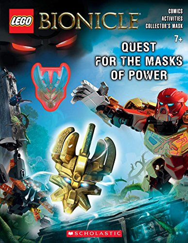 9780545872553: Activity Book with Mask (Lego Bionicle: Activity Book #1)