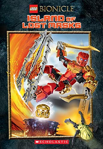 9780545873253: Island of the Lost Masks (LEGO Bionicle: Chapter Book #1)