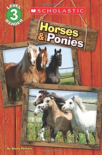 9780545889599: Horses and Ponies (Scholastic Reader, Level 3)