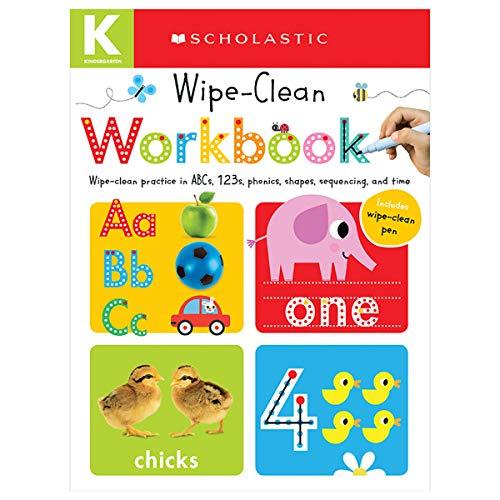 9780545903264: Wipe Clean Workbook: Kindergarten (Scholastic Early Learners)